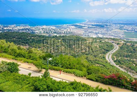 View Of The Bay Of Haifa