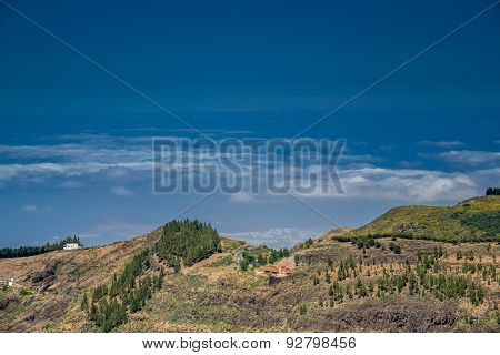 Villages among clouds