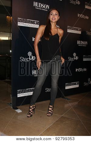 LOS ANGELES - JUN 5:  Lindsey Morgan at the Step Up Women's Network 12th Annual Inspiration Awards at the Beverly Hilton Hotel on June 5, 2015 in Beverly Hills, CA
