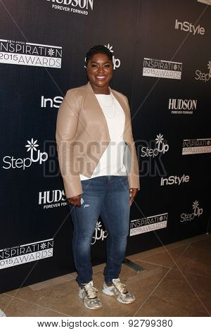 LOS ANGELES - JUN 5:  Ester Dean at the Step Up Women's Network 12th Annual Inspiration Awards at the Beverly Hilton Hotel on June 5, 2015 in Beverly Hills, CA
