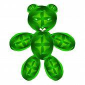 image of teddy  - This is a fun teddy bear - JPG