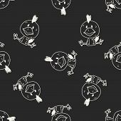picture of chinese zodiac  - Chinese Zodiac Chicken Doodle Drawing - JPG