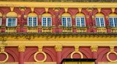 image of british culture  - Detail of building from British Imperial time in Yangon Myanmar - JPG
