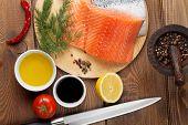 pic of condiment  - Salmon - JPG