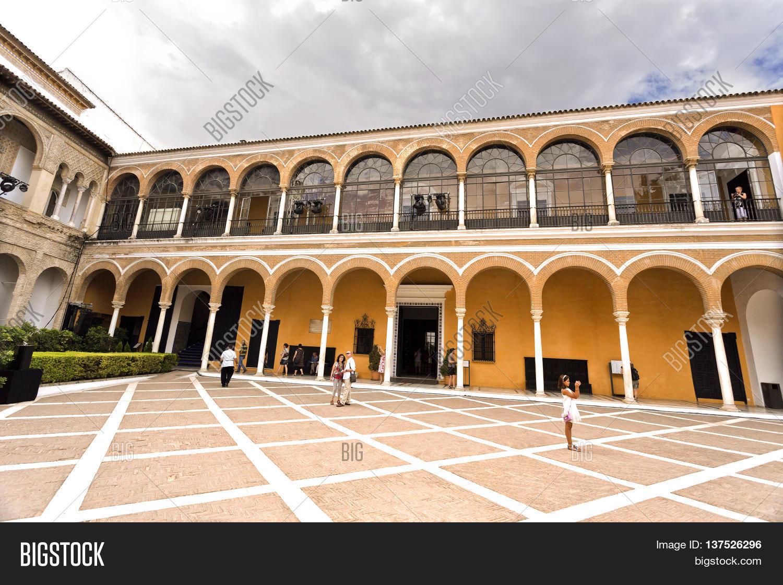 Seville spain september 12 2015 image photo bigstock for Seville house