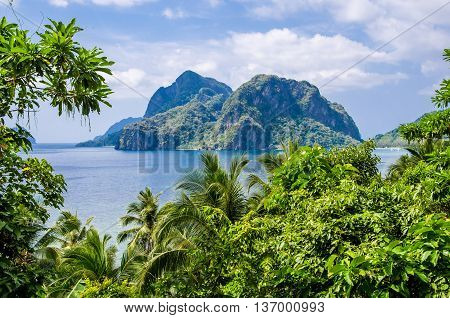 Seven comando beach, El Nido Palawan Philippines
