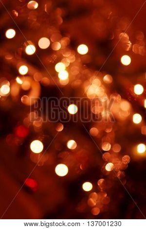 Blurry lights background