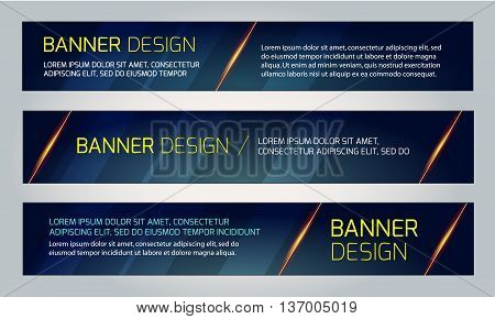 Abstract banner design. Vector. Disco nighclub disco DJ. Cosmic HUD sci-fi interface. Science news sport. War online games