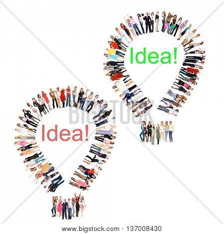 Workforce Concept Corporate Teamwork