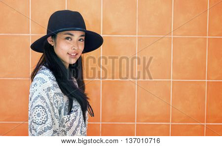 Background Girl Adolescence Calm Casual Leisure Concept