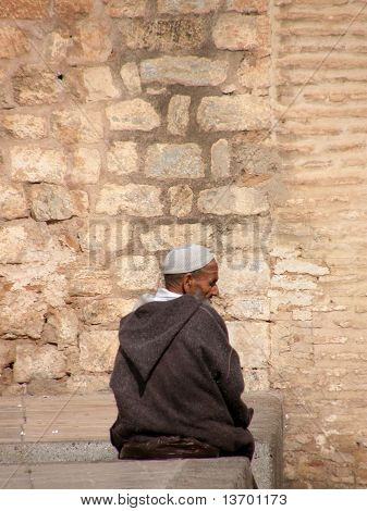 Old Moroccan Man