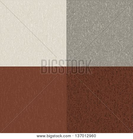 Abstract wooden textured surface. Vector pattern drawing. Natural wood Texture, realistic wooden background, vector. Editable pattern in swatches.