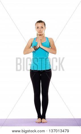 Woman Yoga Teacher