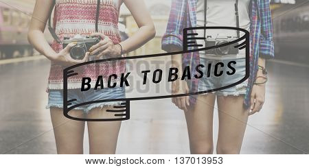 Back to Basics Old School Original Classic Vintage Concept