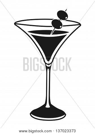 cocktail party isolated icon design, vector illustration  graphic