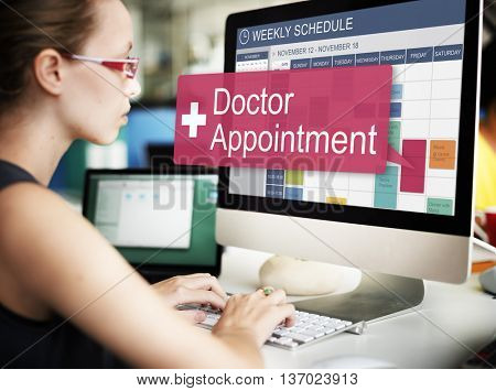 Doctor Appointment Diagnosis Treatment Medical Concept