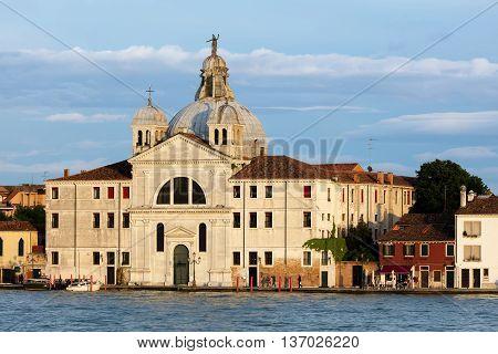 Santa Maria Della Presentazione Church In Venice, Italy