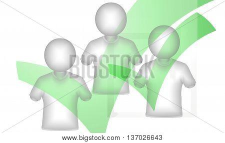 tick check green okay design graphic image