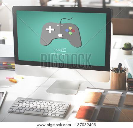 Game Console Entertainment Gadget Electronic Concept