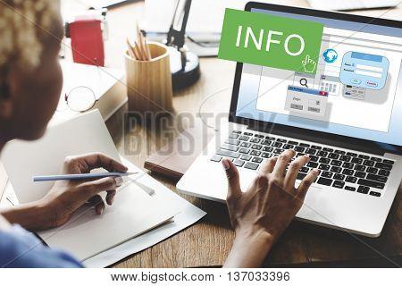 Info Data Details Research Statistics Facts Content Concept
