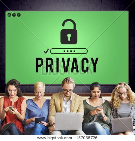 Privacy Confidential Protection Security Policy Concept