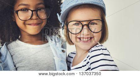 Children Kids Friends Playful Happiness Concept