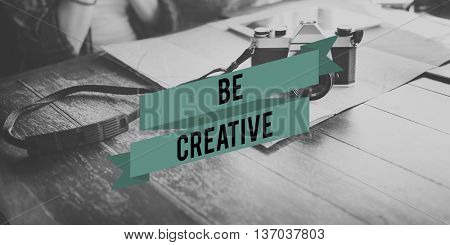 Be Creative Ideas Creativity Think Outside the Box Concept