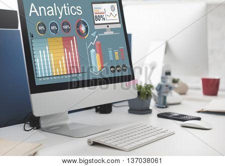 Analytics Data Statistics Analyze Technology Concept