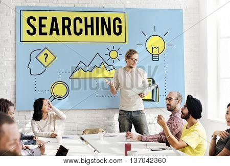 Explore Explorer Research Searching Study Concept