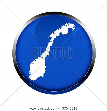 Norway map button in the colors of the European Union.