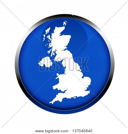 United Kingdom map button in the colors of the European Union.