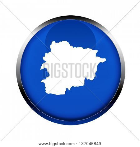 Andorra map button in the colors of the European Union.