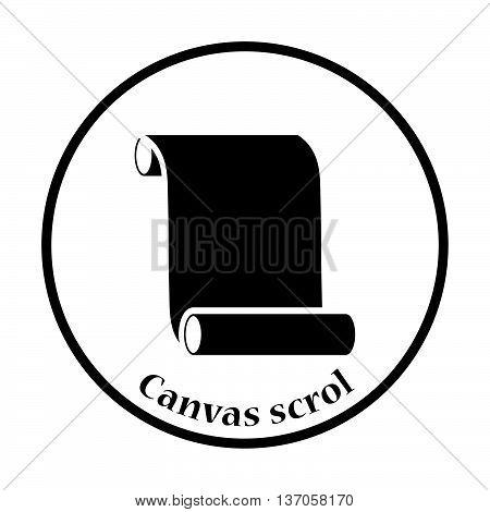Canvas Scroll Icon
