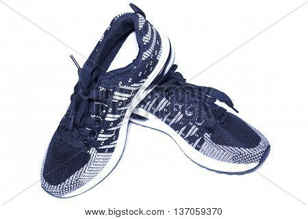 sport shoes on isolated white background ,footwear