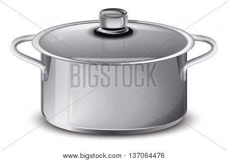 pan isolated on a white background , vector illustration.