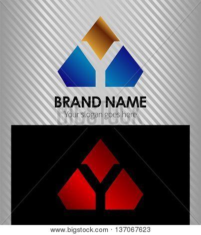 Letter Y Letter Y template design vector