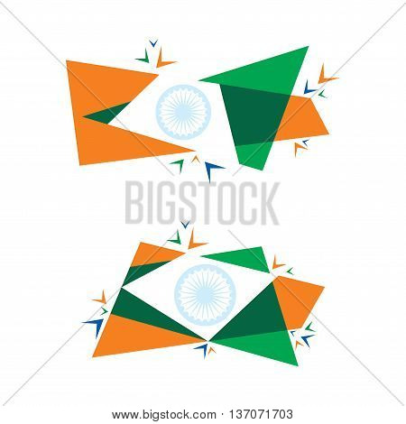 big independence day offer banner with big blast design vector
