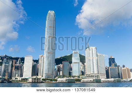 Hong Kong city at day time