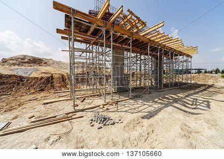 Building Process Of Ada Bridge