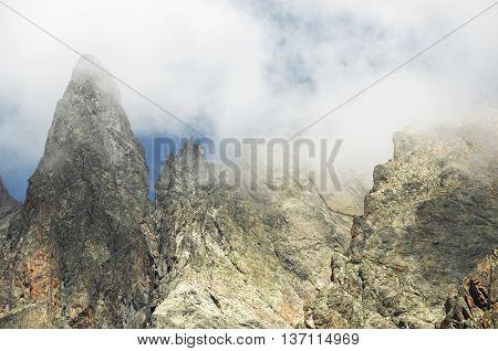 Aiguilles Rouges du Chamonix, Mont Blanc Massif, Alps, France