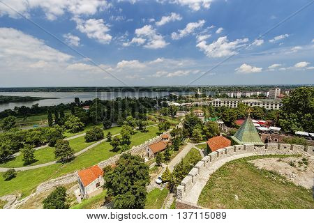 Belgrade Fortress And Panorama View