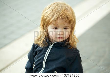 Little Boy With Cute Face