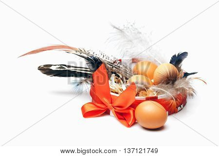 Eggs In Decorative Box