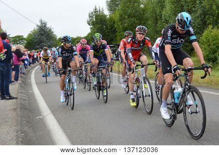 Montreuil Bellay, Pays de la Loire France. 103rd Tour de France. Stage 4. 5th July 2016
