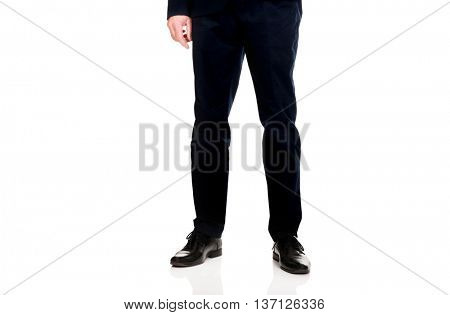 Businessman in smart clothes