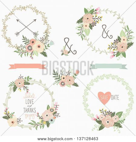 Floral Wreath Collections