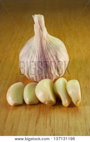 Garlic On Breadboard - 3