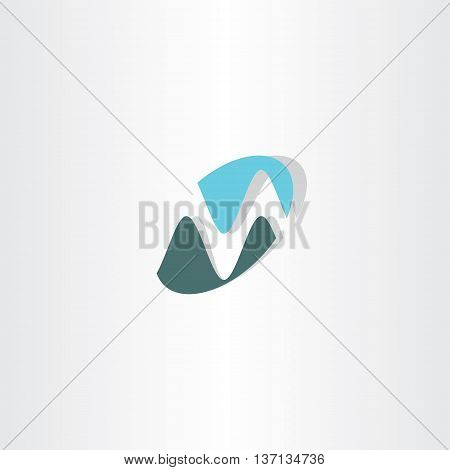 Business Logotype M Letter M Vector Icon Logo