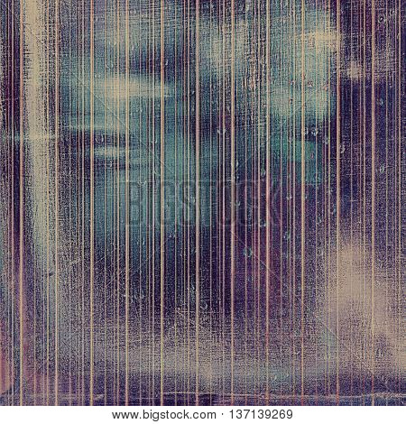 Abstract grunge weathered background of vintage texture. With different color patterns: brown; blue; gray; purple (violet); cyan