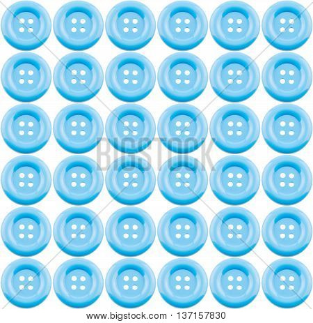 blue clasper isolated on white background .